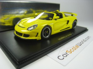 GEMBALLA MIRAGE GT 1/43 SPARK (YELLOW)