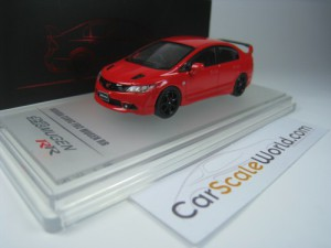 HONDA CIVIC TYPE R FD2 MUGEN RR 1/64 INNO64 (RED)