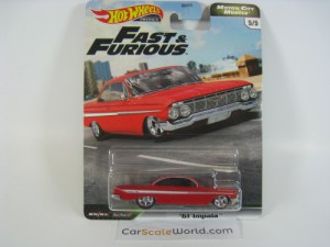 61 IMPALA FAST AND FURIOUS MOTOR CITY MUSCLE HOTWH