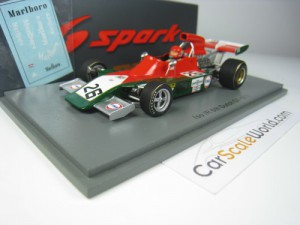 ISO IR 6TH DUTCH GP 1973 GIJS VAN LENNEP 1/43 SPAR