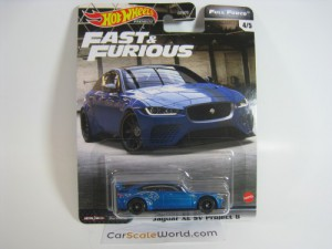 JAGUAR XE SV PROJECT 8 FAST AND FURIOUS FULL FORCE