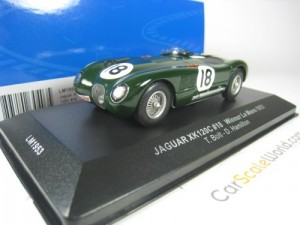 JAGUAR XK 120C #18 WINNER LE MANS 1953 T. BOLT D.
