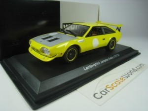 Lamborghini Jarama Rally 1973 1/43 Whitebox (Yello