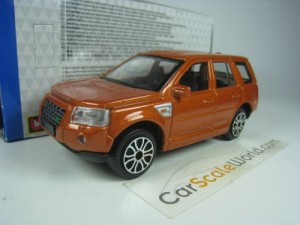 LAND ROVER FREELANDER II 2007 1/43 BBURAGO (ORANGE