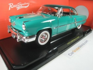 LINCOLN CAPRI 1952 1/18 YAT MING - ROAD SIGNATURE