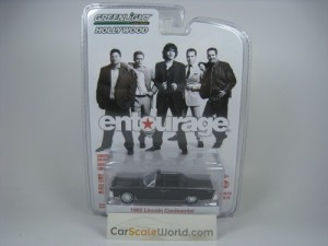 LINCOLN CONTINENTAL 1965 ENTOURAGE 1/64 GREENLIGHT