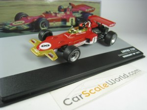 LOTUS 72D GERMANY GP 1971 E. FITTIPALDI 1/43 IXO A