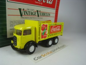 MACK MODEL CJ COCA COLA 1/64 HARTOY (YELLOW)