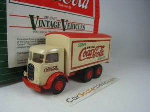 MACK MODEL CJ COCA COLA 1/64 HARTOY (BEIGE)