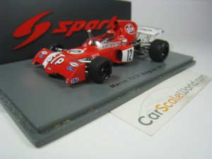 MARCH 721X BELGIUM GP 1972 NIKI LAUDA 1/43 SPARK