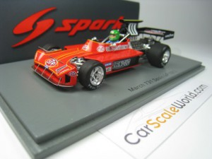 MARCH 731 SPAIN GP 1973 HENRI PESCAROLO 1/43 SPARK