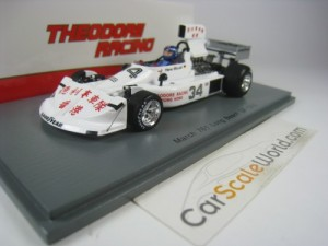 MARCH 761 LONG BEACH GP 1976 H. STUCK 1/43 SPARK