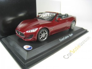 MASERATI GRANCABRIO SPORT 1/43 WHITEBOX (DARK RED)