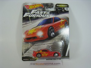 MAZDA RX-7 FD FAST AND FURIOUS FAST TUNERS HOTWHEE
