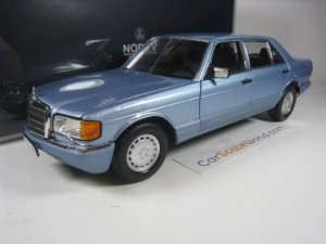 MERCEDES BENZ 560 SEL 1991 W126 1/18 NOREV (PEARL