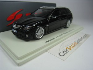 MERCEDES BENZ C63 AMG T-MODEL (W204) 2010 1/43 SPA