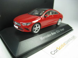 MERCEDES BENZ CLA 2019 1/43 SPARK (RED)