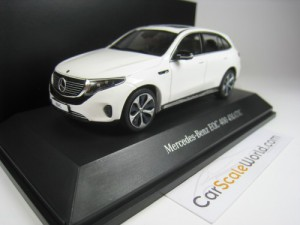 MERCEDES BENZ EQC 400 4MATIC 2019 1/43 SPARK (WHIT