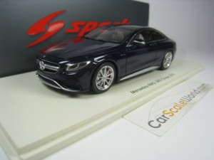 MERCEDES BENZ S63 AMG COUPE 2016 (W222) 1/43 SPARK