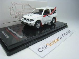 MITSUBISHI PAJERO EVOLUTION 1/64 INNO64 (WHITE)