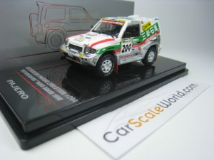 MITSUBISHI PAJERO EVOLUTION #204 PARIS DAKAR 1998