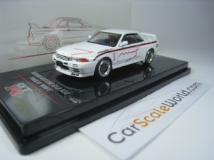 NISSAN SKYLINE GT-R R32 TUNED BY MINE´S 1/64 INNO6