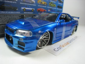 NISSAN SKYLINE GT-R R34 FAST AND FURIOUS BRIAN 1/2