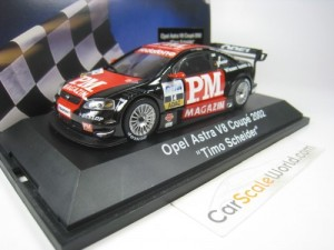 OPEL ASTRA V8 COUPE DTM 2002 #14 TIMO SCHEIDER 1/4