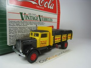 PETERBILT 260 COCA COLA 1/64 HARTOY (YELLOW)