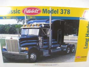 PETERBILT MODEL 378 LONG HAULER 1/24 ITALERI (KIT