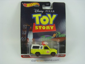 PIZZA PLANET TRUCK TOY STORY HOTWHEELS RETRO ENTER