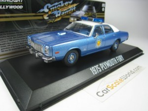 PLYMOUTH FURY 1975 ARKANSAS POLICE SMOKEY AND THE