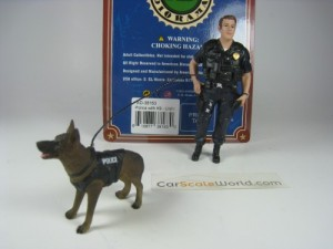 POLICE WITH K9 - UNIT I - POLICEMEN + DOG FIGURES
