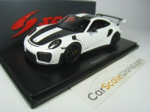 PORSCHE 911 GT2 RS 2018 1/43 SPARK (WHITE/BLACK)