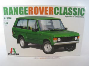 RANGE ROVER CLASSIC 1/24 ITALERI (KIT ASSEMBLY)
