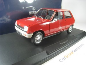 RENAULT 5 1972 1/18 NOREV (RED)