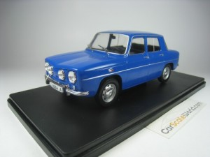 RENAULT 8 TS 1/24 IXO SALVAT (BLUE) WITH BLISTER