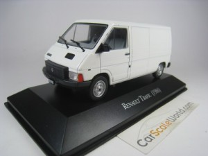 RENAULT TRAFIC 1986 1/43 IXO SALVAT (WHITE) WITH B
