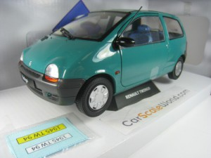 RENAULT TWINGO 1993 1/18 SOLIDO (GREEN)