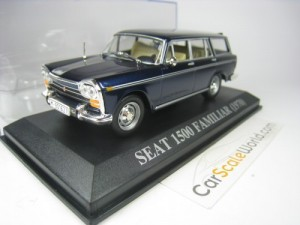 SEAT 1500 FAMILIAR 1/43 IXO ALTAYA (BLUE)