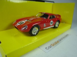 SHELBY COBRA DAYTONA COUPE 1965 1/43 YAT MING - RO