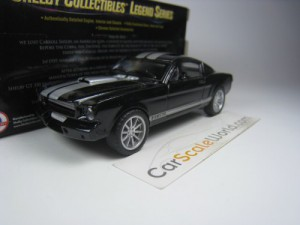 SHELBY GT350 1965 1/43 SHELBY COLLECTIBLES (BLACK/