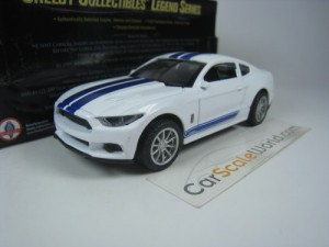 SHELBY GT350 2016 1/43 SHELBY COLLECTIBLES (WHITE/