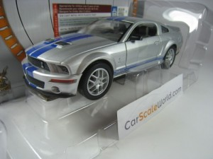 SHELBY GT500 2007 1/24 YAT MING - ROAD SIGNATURE (