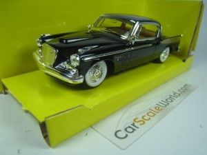 Studebaker Golden Hawk 1958 1/43 Yatming - Road Si
