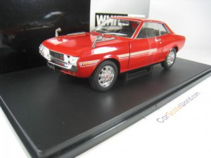 TOYOTA CELICA GT 1971 1/24 WHITEBOX (RED)