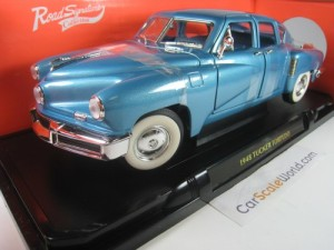 TUCKER TORPEDO 1948 1/18 YAT MING - ROAD SIGNATURE