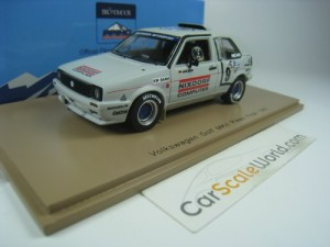 VOLKSWAGEN GOLF MK2 PIKES PEAK RALLY 1987 1/43 SPA